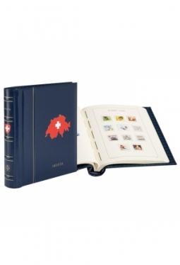 Schweiz Vordruckalbum 1843-1959 mit Sc..