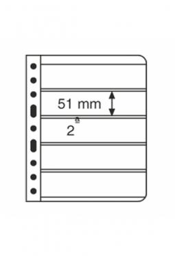 Kunststoffhüllen VARIO, 5er-Einteilung..