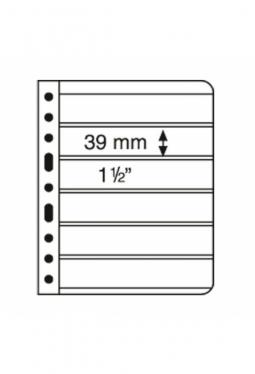 Kunststoffhüllen VARIO, 6er-Einteilung..