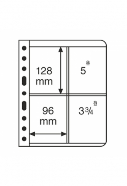 Kunststoffhüllen VARIO, 2er-Einteilung..