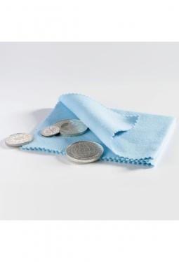 Münz-Poliertuch, blau