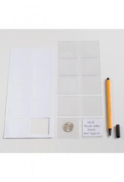 Münzentaschen für 2 Münzen (42 mm), 10..